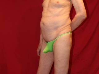 These undies do seem to make even a flaccid cock stand out !!