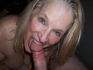 new slut gives you her cocksucker smile