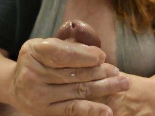 Mmm... Getting all of that wonderful cum from my man. This cumslut just loves it! Do you need help?