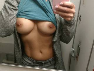 Pic our friend sent us from the airplane on her way to come see us to play