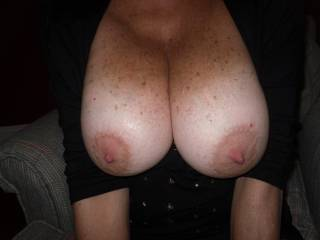 Oh yes...I absolutley love to suck on nipples...even like  mine sucked on too.  I like to puit my mouth around the areolas and suck it gently while my tongue licks and flicks the very tips of your nipples....then as I hear you moan I like to suck a little hard until you tell me to start to nibble on the tips.  I wanna play on cam for you.