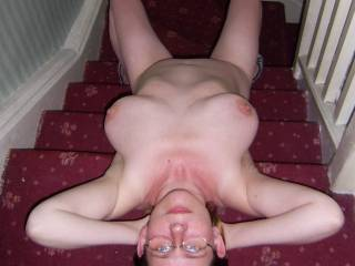 i would love to kiss your sweet lips and then suck your tits before i move down and eat your pussy