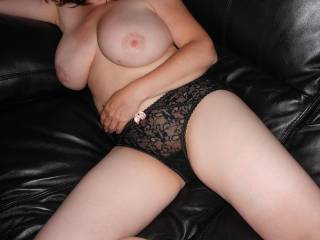 Very much, love those gorgeous big tits