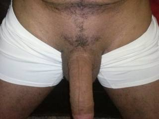 Oh honey, FUCK NO!  I'd love to sit in front of you and let that beautiful cock dangle in front of me...wanna watch a woman play with her pussy as she looks at your dangling hot cock.  I won't be able to do that for very long. because the urge to suck your cock will be so strong I'll be gobbling it up within minutes.  I won't stop sucking it until you fill my mouth with lots of hot cum.  Mrs. K