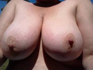 For a breast obsessed tittyfucker like me, you'd be absolute paradise! I wanna thrust my throbbing cock between your massive, silky soft breasts till stream after stream of hot, creamy cum erupts and drenches your magnificent chest in a thick, gooey glaze