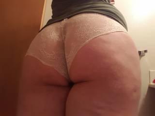 More panties shot of my fat butt =D