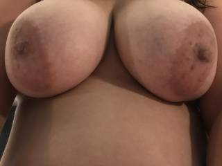Just saying hi with a first upload, hope you like my boobs