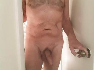 Hi, would you like to cum in and suck my cock?