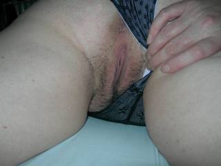A preview or an invite? Your pussy looks so inviting. X