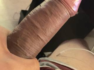 dang === what a beautiful thick cock mmmmmm looks delicious :) :)