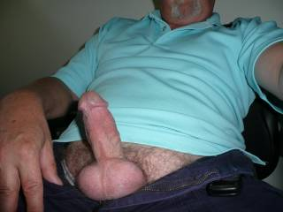 Do you mind Pounding me with that Stiff Cock while your Cumm-Laded Ballsax are Bouncing off of my Clitty ?!...Yeah Baby !!!