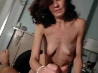 my g f gives cock suck wile talking dirty