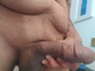 My head is wanting a warm mouth, my cum taste do good