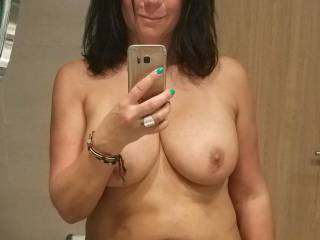 Just me in my dark hair. What do you think?