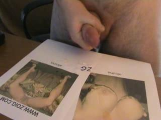 U orgasm was intense u shot all over my tits