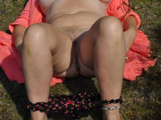 Mmmmmm your wife Jayne is a very very sexi lady.....& i would love the opportunity to fuck her outdoors sumwhere just message me sumtime :-)