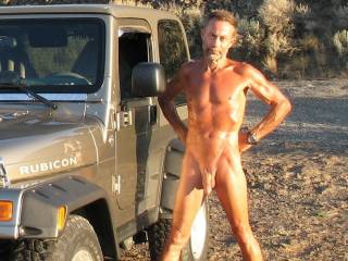 We get naked and go for a drive....I usually suck his cock while we are on the interstate letting truck drivers have a nice view of me naked with his cock in my mouth.  Are you game for something like that?  Getting your cock sucked by a naked woman and having truck drivers see it all?  K & G
