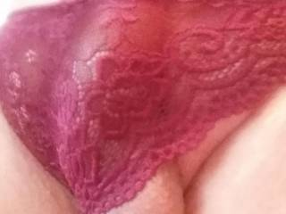 Do you like my new panties? I don\'t think they are big enough...What do you think?