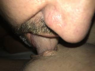 Any lovely ladies out there want to help me lick my wife's pussy