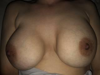 My nice huge tits