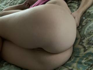 Her ass is so f-ing round, I'll put her up against any ass on here😏
