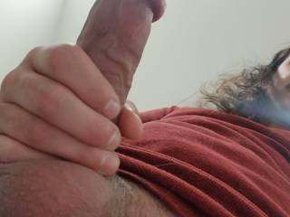 Showing a little balls from the bottom