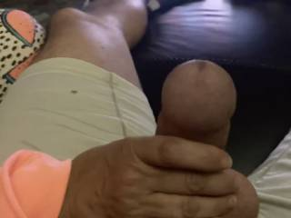 She says she loves my cock head. Looks pretty average to me?