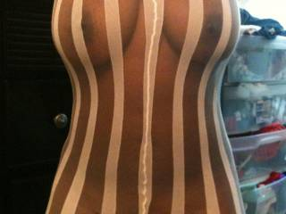 Yes, I would after looking at you first in it!!  You look very good in that!!  VERY SEXY!!  I'm getting so hard looking!!!