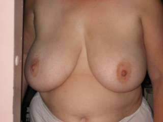 would love to cum on those beautiful tits and i will gladly clean them up