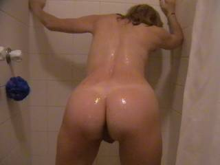 lovely bum hun, specially all wet like that xx