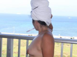 I'm enjoying the view to....yummy tits