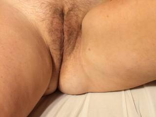 Ready to open up for a big hard cock.