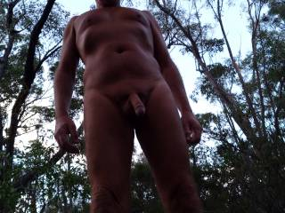 A nice day for hiking naked, would you like to join me?