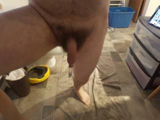Pumping my foreskin