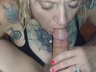 Love sucking his cock
