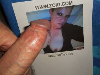 SheLoveTributes inspired my cock to throb and my pre-cum to drip from my swollen tip  >:)