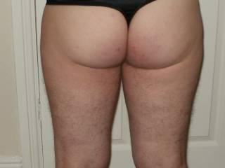 my arse in panties