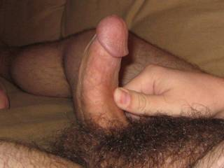 Your cock is so desirable... Hope the view of my body gets you as horny as i am right now... I close my eyes and imagine your hard dick exploring my mouth, then my tits and finally my very wanting pussy and ass...