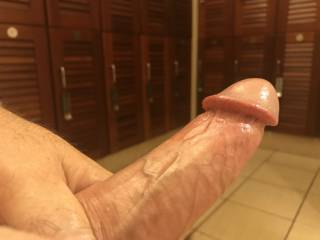 Another view angle of my hard dick. What do you think?
