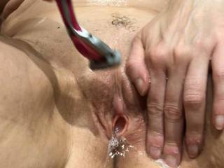 cleaning my pussy for you Looking out for guys how will do tributvideos for me
