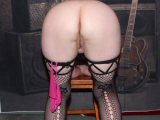 my butt is always a favourite who want to fill both holes...… one at a time…. then watch the cream, pour out slowly...… I prefer lots of cream...