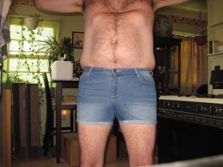 Like my skimpy little denim shorts?