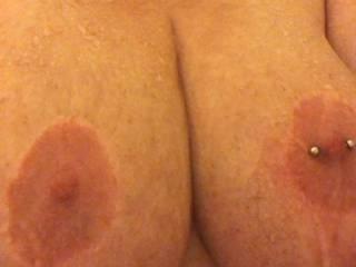 Will someone cum scrub me I'm a dirty little girl.