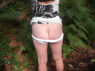 nothing better than being naughty outdoors!! :-)