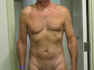 With a body like that I'd say you are around 49/50! So I think your profile is lying, you couldn't be 68? Wow you are very sexy 68 year old. :)