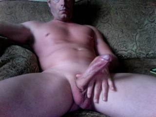 Lovely view of yr cock. I'd really enjoy masturbating yr cock till u were pishing and pishing and pishing spunk.