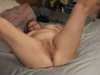 I'd love to on yours hot pussy until it's good and wet then slide my hard cock inside going in out nice and slow to start mmm