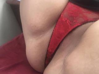Her sexy pussy and panties