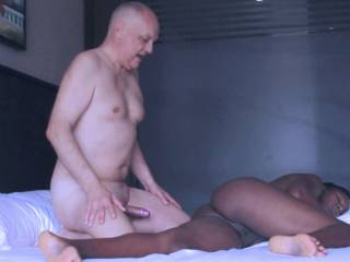 Enjoy pics from an interracial fucking action with porn actor Cane