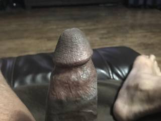 i'm laying back on the recliner, which hole do want to put on this rock hard bbc ladies ?